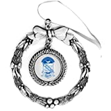 Phi Beta Sigma Pewter Holiday Ornament