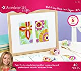 American Girl Crafts Paint-by-Number Paper Art