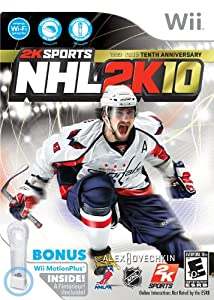 NHL 2K10 Motion Plus Bundle - Wii Bundle Edition