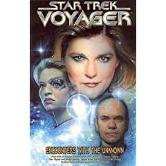 Star Trek Voyager: Encounters with the Unknown (Star Trek Voyager (DC Comics)) by Nathan Archer