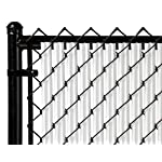4ft White Ridged Slats™ for Chain Link Fence
