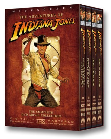The Indiana Jones Trilogy (4 DVD Box Set)