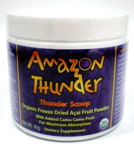 Amazon Thunder  Scoop Organic Freeze Dried 