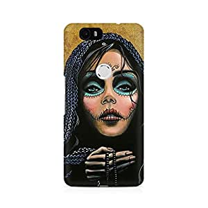 Mobicture Girl Abstract Premium Printed Case For Huawei Nexus 6P