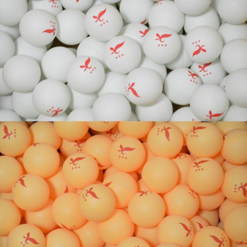Practice 3 Star 40mm Ping Pong Balls, Pack of 50.
