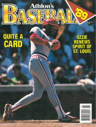 Ozzie Smith unsigned St. Louis Cardinals Athlon Sports 1989 MLB Baseball Preview Magazine at Amazon.com