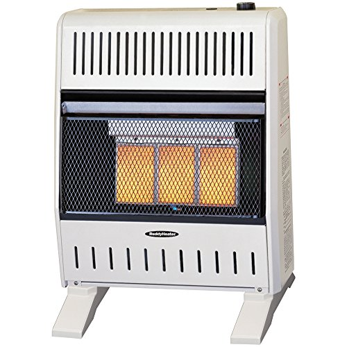 Sure Heat WGSH16IRLP Sure Heat 16,000 BTU Infrared Gas Space Heater with Thermostat and Blower, Liquid Propane