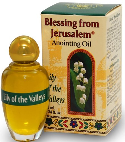Blessing from Jerusalem Anointing oil - 10ml ( .34 fl. oz. ) (Lily of the Valleys) (Holy Oil compare prices)