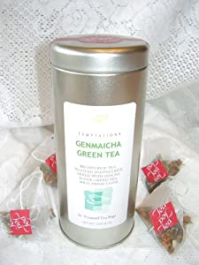 Genmaicha Green Tea 20 Pyramid Infuser Bags