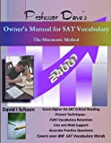 img - for Professor Dave's Owner's Manual for SAT Vocabulary: The Mnemonic Method book / textbook / text book