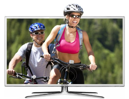 Samsung UE40D6510 40-inch Widescreen Full HD 1080p 3D 400Hz LED SMART Internet TV with Freeview HD - White