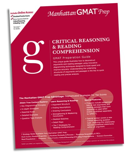 Manhattan critical reasoning and reading comprehension gmat