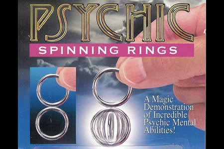 Loftus Empire Magic Psychic Spinning Rings - 1