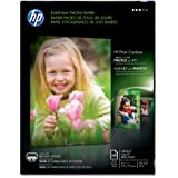 HP Everyday Photo Paper,  Glossy (100 Sheets, 8.5 x 11 Inches)