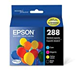 Epson T288120-BCS DURABrite Ultra Black and Color Combo Pack Standard Capacity Cartridge Ink