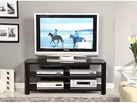 Innovex Oxford Black TV Stand for TVs up to 55""