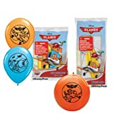 Pioneer National Latex Disney Planes Balloon Party Pack (6 Balloons/4 Punch Balls), Assorted