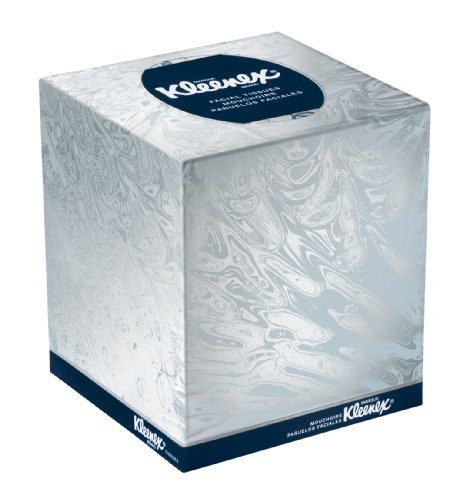 Kleenex 21270ct boutique white facial tissue 2 ply pop up box 95 tissues per box box of 36 - Nose tissue dispenser ...