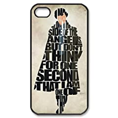 Sherlock iPhone 4 4S Case Hard Plastic iPhone 4 4S Back Cover Case