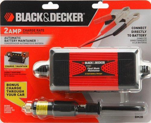 Black Decker Bm2b Smart Battery Charger 2 Amp Automatic Float Mode