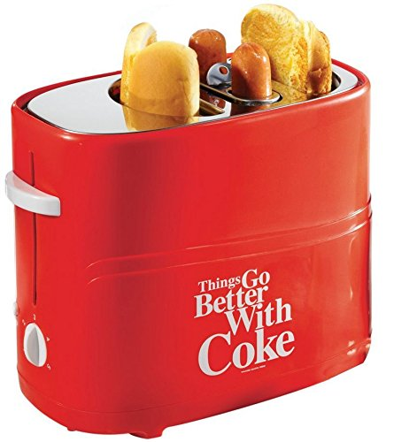Brand NEW Hot Dog Pop Up Toaster Party Kitchen Coca Cola Series Coke Cooking Buns Gift NEW