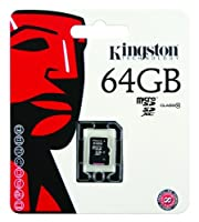 Kingston Class 10 MicroSD Flash Card with SD Adapter by Kingston Digital, Inc.