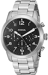 Fossil Men's FS5141 Pilot 54 Chronograph Stainless Steel Watch
