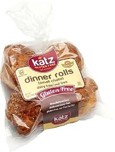 Katz Gluten Free Small Challah Rolls (7 Oz.)