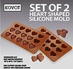 KOVOT Heart Shaped Silicone Molds - S...