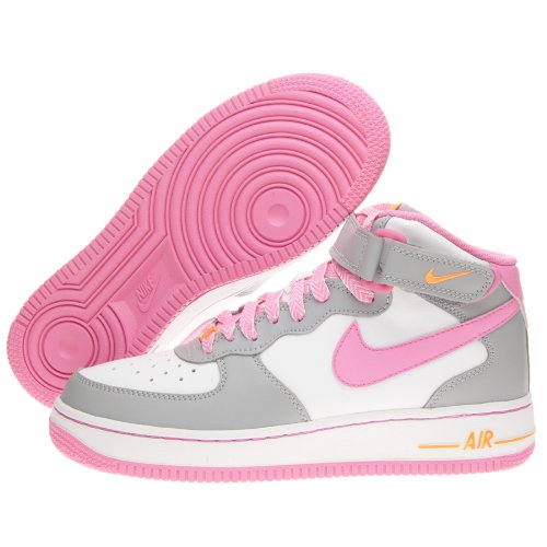 Nike Air Force Grau Pink