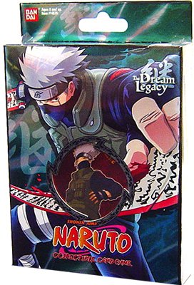 Naruto Collectible Trading Card Game The Dream Legacy Theme Deck Starter - Kakashi (Set B-2)
