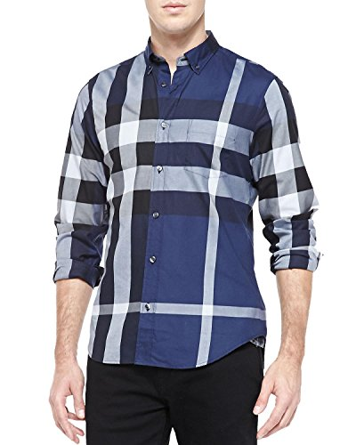 burberry-check-cotton-fred-trim-fit-sport-mens-shirt-large