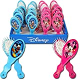 Disney Mickey & Minnie Hair Brush - Blue
