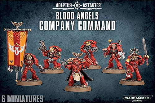 Warhammer 40k Blood Angels Company Command (Space Marine Apothecary compare prices)