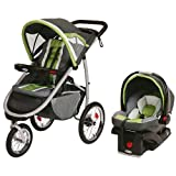 Graco FastAction Fold Jogger Click Connect Travel System-Piazza