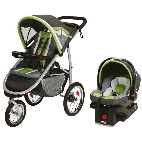 Review Of Graco FastAction Fold Jogger Click Connect Travel System, Piazza