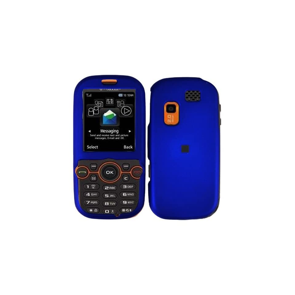 Blue Hard Case Cover for Samsung Gravity 2 II T469 T404G