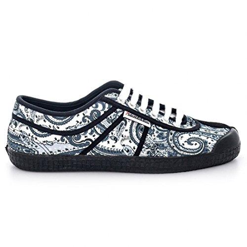 Kawasaki-Printing Silk scarpe, colore: bianco, Bianco (bianco), 37