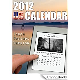 2012 US Calendar-Touch Friendly Version (English Edition)