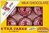 Tunnock's Milk Chocolate Teacakes (6 per pack - 144g)
