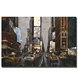 City Lights by Marti Bofarull Premium Gallery-Wrapped Canvas Giclee Art (Ready-to-Hang)