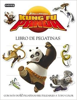 LIBRO DE PEGATINAS. KUNG FU PANDA (Spanish) Paperback