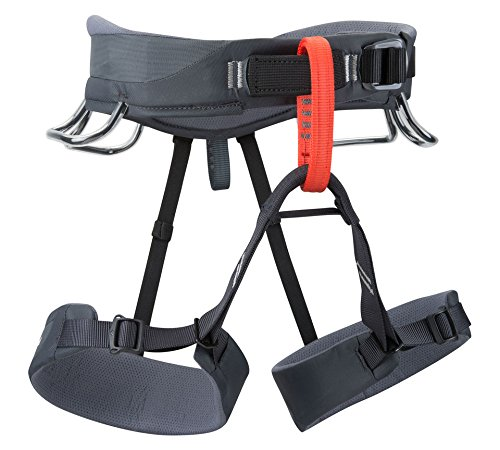 Black Diamond Momentum Harness, Graphite, Large (Petzl Climbing Harness compare prices)