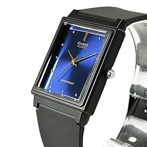 カシオ CASIO メンズ 腕時計 アナログ ベーシック ブラック×ブルー MQ-38-2A 並行輸入品
