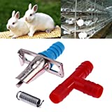 Westsell 20Pcs/lot Automatic Nipple Drinkers for Rabbits Feeders Water Drinker Waterer Rodents Poultry Feeder Farm Animals Supplies