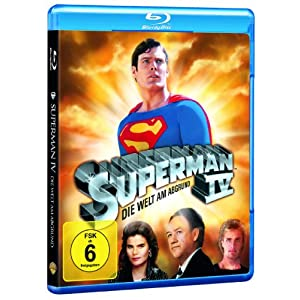 BD * Superman 4 - Die Welt am Abgrund [Blu-ray] [Import allemand]