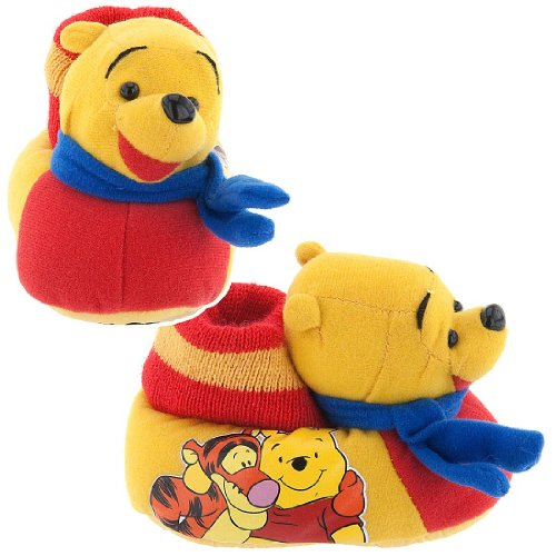 Cheap Winnie the Pooh Sock Top Slippers for Toddlers (B00869DRLG)