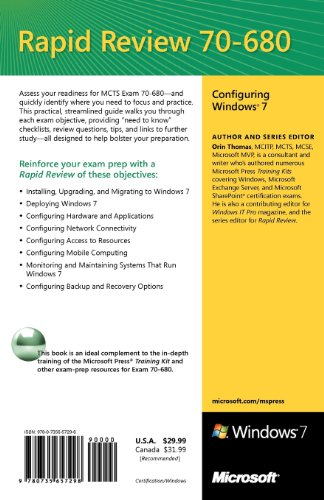 mcts 70-680 cert guide microsoft windows 7 configuring ebook