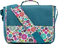 C.R. Gibson Iota Chic Laptop Messenger Bag (ILMB-8962) by C.R. Gibson