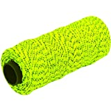 MARSHALLTOWN The Premier Line ML613 Mason's Line 500-Foot Neon Green Bonded & Braided Nylon